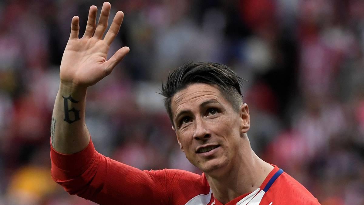 Fernando Torres hung up his boots
